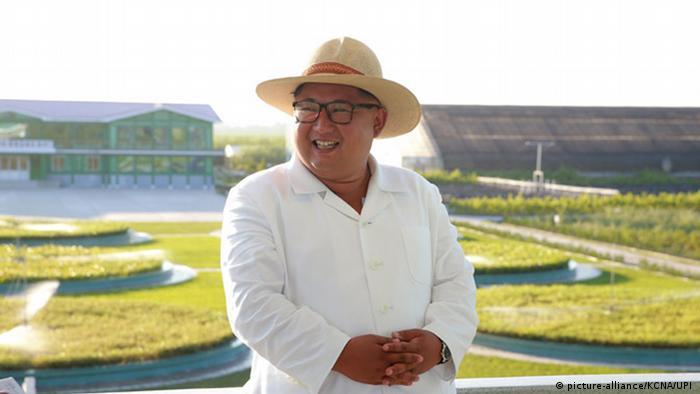 Nordkorea: Kim Jong Un besucht Kangwon Provinz (picture-alliance/KCNA/UPI )