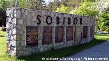 Polen, Sobibor: Gedenktafel