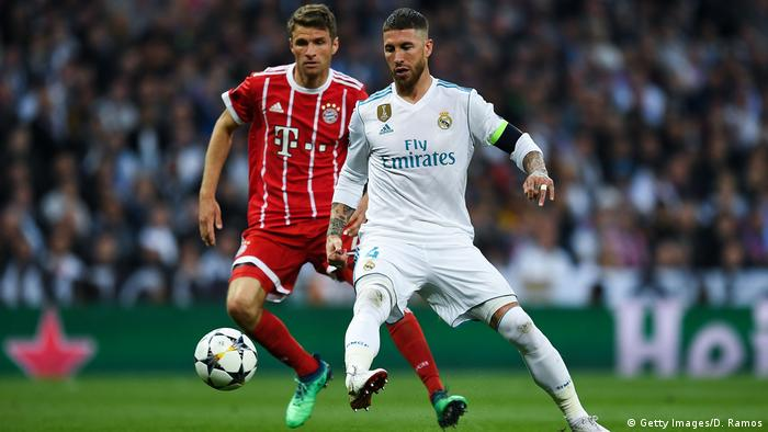 UEFA Champions League: Real Madrid - Bayern München (Getty Images/D. Ramos)