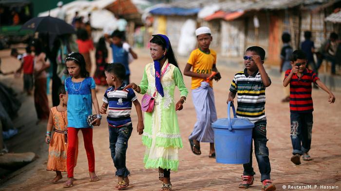 Rohingya Bangladesch (Reuters/M. P. Hossain)