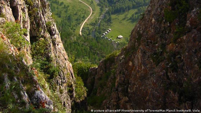 The Altai Krai mountains in Siberia (picture-alliance/AP Photo/University of Toronto/Max Planck Institute/B. Viola)