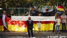 Deutschland | Pegida Demo in Dresden