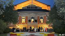 Festspielhaus auf dem Grünen Hügel in Bayreuth