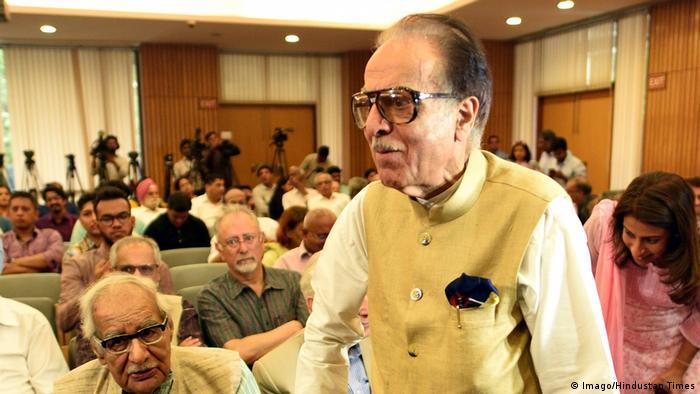 Indien Journalist Kuldip Nayar gestorben (Imago/Hindustan Times)