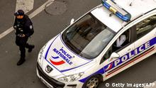 French police car, archive image from 2018