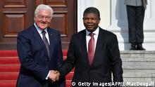 Berlin Staatsbesuch Steinmeier und Joao Lourenco Präsident Angola