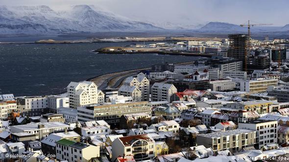 Iceland's capital Reykjavik