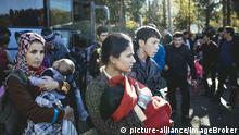 Deutschland Erstaufnahmeeinrichtung für Flüchtlinge