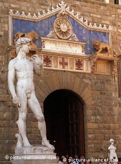 مجسمهی داود در شهر فلورانس