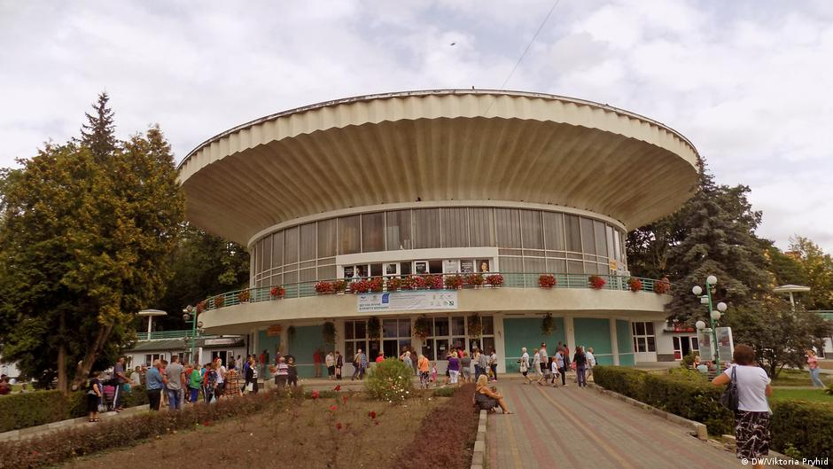 Ukraine Stadt Morschyn
