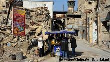 Syrien Aleppo Zerstörung und Ruinen