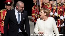 Georgien Bundeskanzlerin Merkel Staatsbesuch