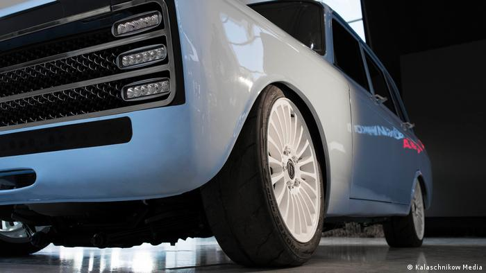 Kalashnikov Says The Technology In Its New Electric Car Will Rival That Of Tesla