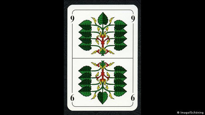 Green 9 playing card (Imago/Schöning)