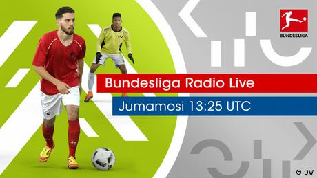 Fußball Bundesliga Radio Key Visual Kiswahili (DW)