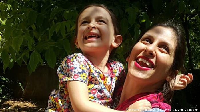 Iran Nazanin Zaghari-Ratcliffe (picture alliance/AP Photo/Free Nazanin Campaign)