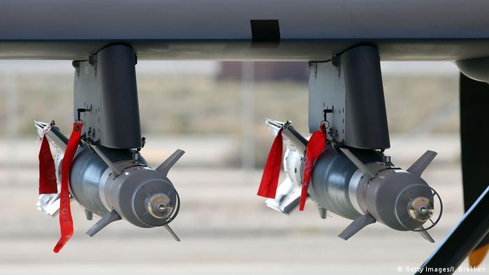 Symbolbild: Autonome Waffen | MQ-9 Reaper Kampfflugzeug (Getty Images/I. Brekken)