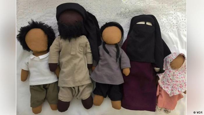 نمونه عروسکهای تولیدشده در کلن به دست سلفیها