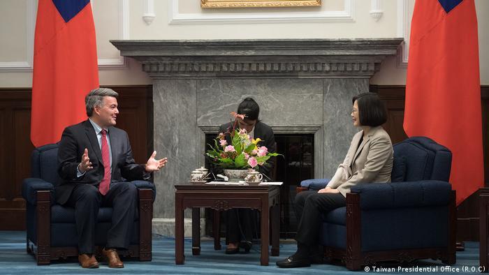 Taiwan Besuch von US-Senator Cory Gardner (Taiwan Presidential Office (R.O.C))