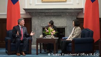 Taiwan Besuch von US-Senator Cory Gardner (Taiwan Presidential Office (ROC))
