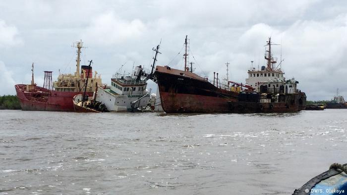 Nigeria shipwrecks
