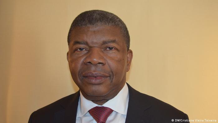 Berlin Joao Lourenco Präsident Angola (DW/Cristiane Vieira Teixeira)