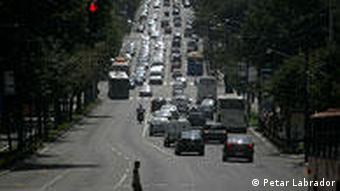 Serbien Land und Leute Kneza Milosa Straße in Belgrad