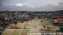 Kutupalong-Flüchtlingslager in Bangladesch