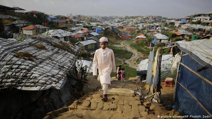 Kutupalong-Flüchtlingslager in Bangladesch (picture-alliance/AP Photo/A. Qadri)