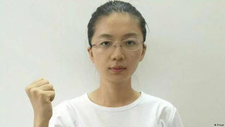 Shen Mengyu chinesische Bürgerrecht-Aktivistin