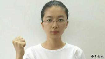 Yue Xin chinesische Bürgerrecht-Aktivistin