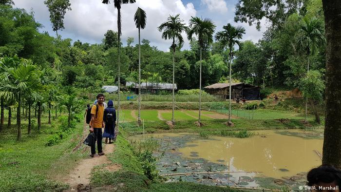 Bangladesch Flüchtlingslager Kutuopalong (DW/A. Marshall)