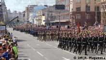 Ukraine Kiew Parade zum Unabhängigkeitstag