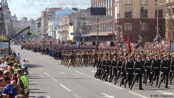Парад до Дня незалежності в Києві, 24 серпня 2018 року