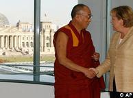 Далай-лама и Ангела Меркель