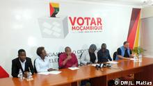 "Representatives of consortium ""Votar Moçambique"""