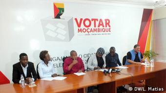 "Representatives of consortium ""Votar Moçambique"""