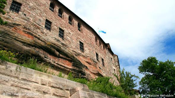 Внешняя стена Императорского замка в Нюрнбергской крепости