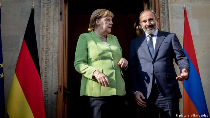Ангела Меркель и Никол Пашинян в Ереване