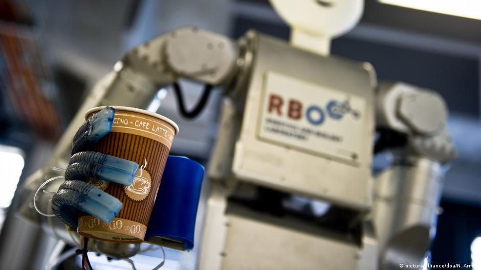 Technische Universität Berlin - Roboter Meka der Firma Meka Robotics
