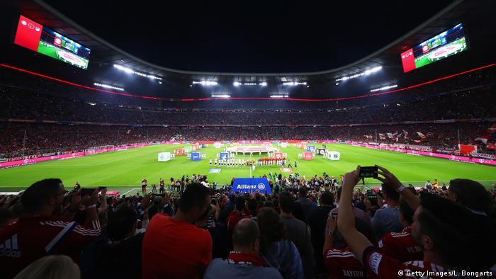 Bayern, München: Fußball: Bundesliga, 1. Spieltag: Bayern München - 1899 Hoffenheim in der der Allianz Arena