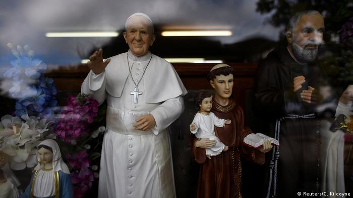 Irland - Irlands Katholiken erwarten den Besuch des Papst
