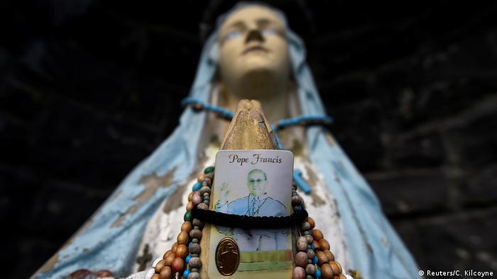 Escándalo de abusos, tema dominante durante la visita del Papa a Irlanda.