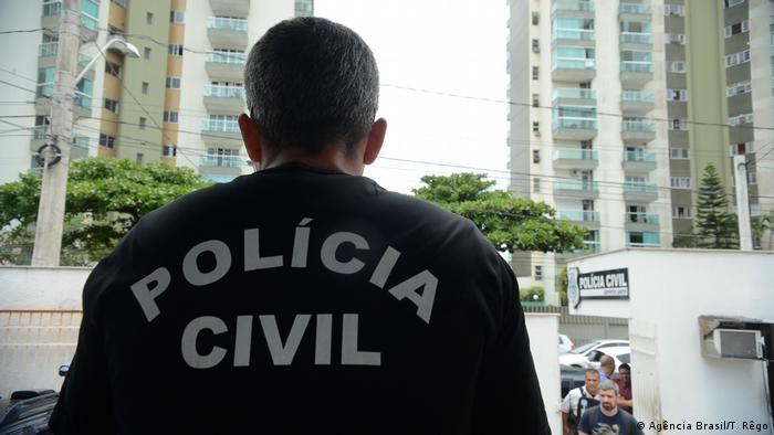 Symbolbild: Zivilpolizei in Brasilien