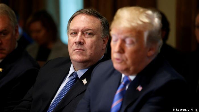 USA Pompeo und Trump (Reuters/L. Millis)