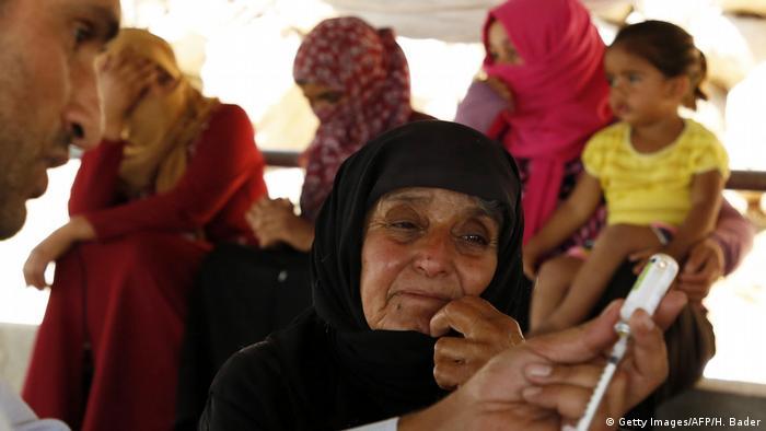 Palästina UNRWA Hilfe im Westjordanland