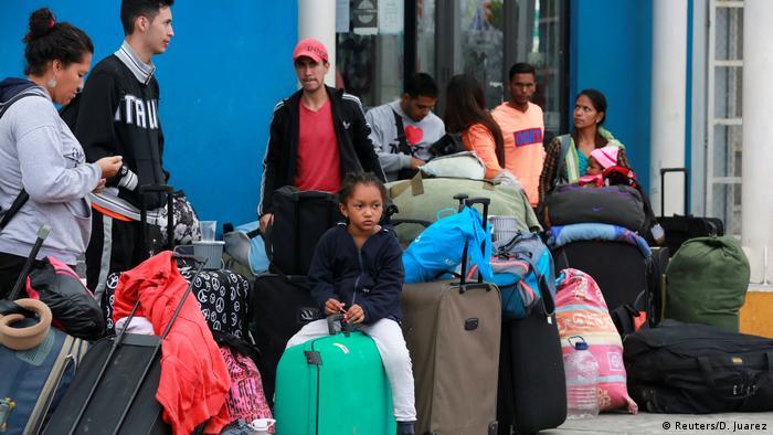Peru Flüchtlinge aus Venezuela (Reuters/D. Juarez)