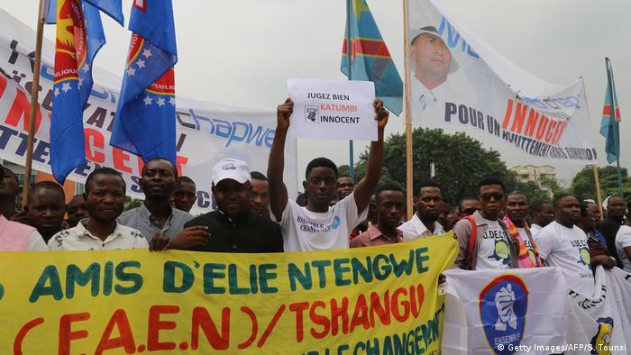 DR Kongo Wahlkampf in Kinshasa