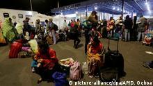 Flucht aus Venezuela - Grenze nach Ecuador