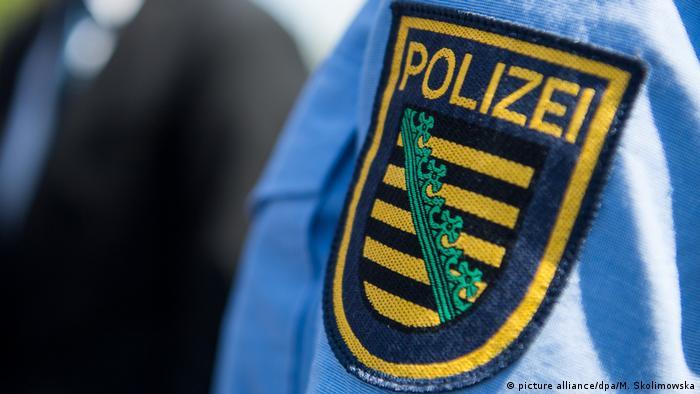 A police shoulder patch